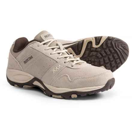 Pacific Trail Basin Hiking Shoes - Suede (For Women) in Taupe/Pumice - Closeouts