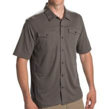 Pacific Trail Button High-Performance Shirt - UPF 30, Short Sleeve (For Men) in Charcoal - Closeouts