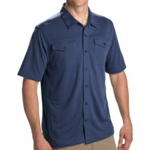 Pacific Trail Button High-Performance Shirt - UPF 30, Short Sleeve (For Men) in Indigo - Closeouts