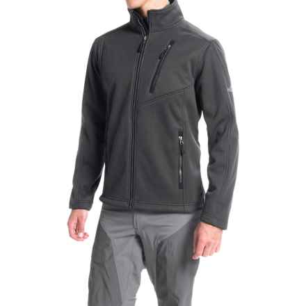 Pacific Trail Chunky Fleece Jacket (For Men) in Asphalt - Closeouts
