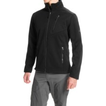 Pacific Trail Chunky Fleece Jacket (For Men) in Black/Black - Closeouts