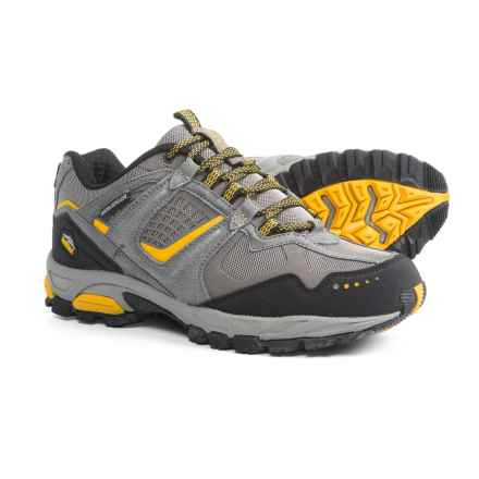Pacific Trail Cinder Hiking Shoes (For Men) in Grey/Black/Gold - Closeouts