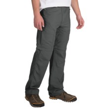 Pacific Trail Convertible Pants - UPF 15+, Zip-Off Legs (For Men) in Dark Grey - Closeouts