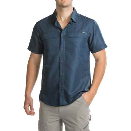 Pacific Trail Cooling Shirt - UPF 30, Short Sleeve (For Men) in Dark Nvy - Closeouts