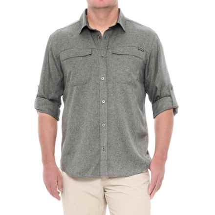 Pacific Trail Crosshatch Vented Shirt - UPF 30, Long Sleeve (For Men) in Grey - Closeouts