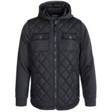 Pacific Trail Diamond-Quilted Jacket (For Little and Big Boys) in Black - Closeouts