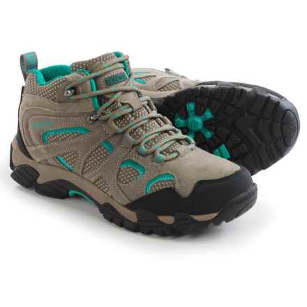 Pacific Trail Diller Hiking Boots (For Women) in Dark Taupe/Teal - Closeouts