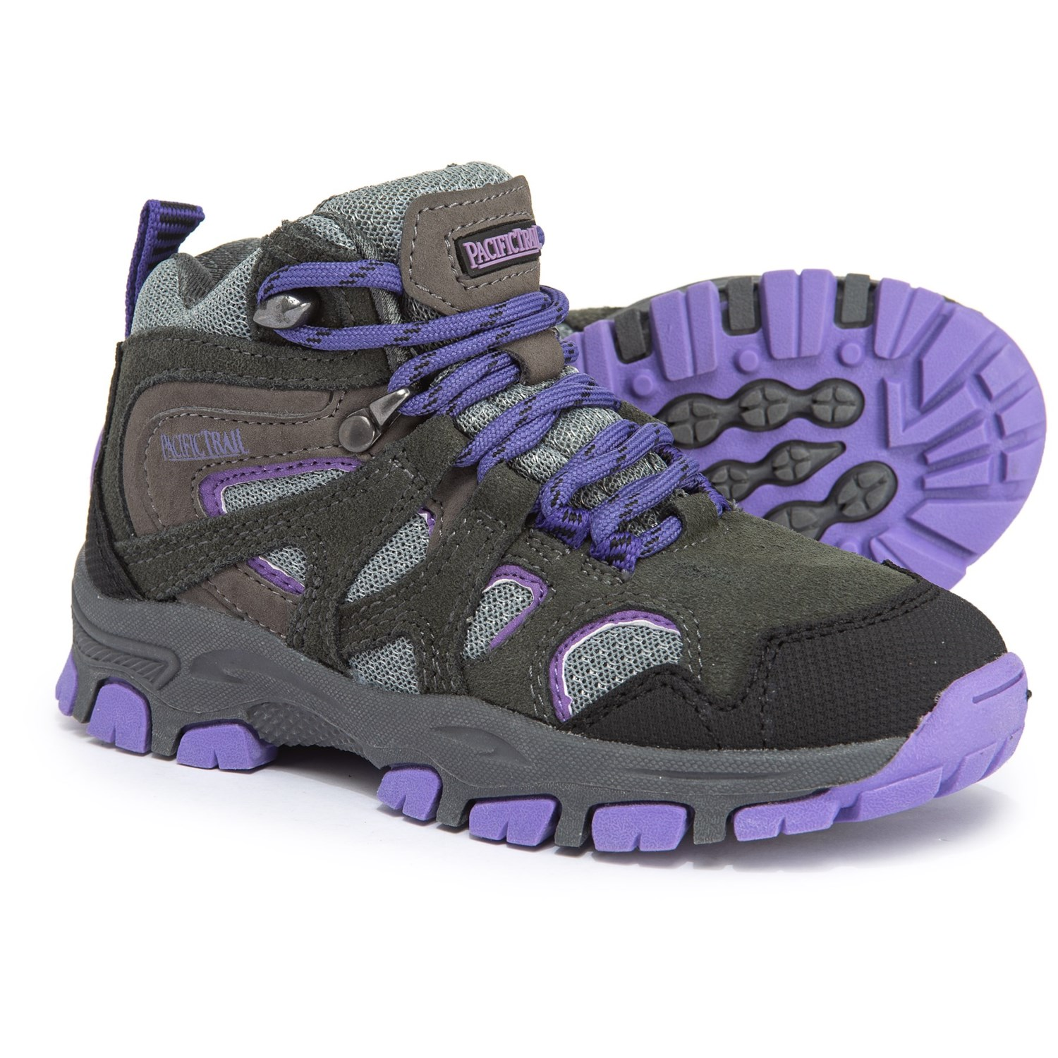 873c53be7e4 Pacific Trail Diller Jr. Mid Hiking Boots - Suede (For Girls)