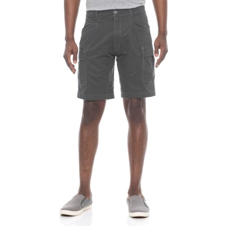 Pacific Trail Expedition Cargo Shorts - UPF 30 (For Men) in Cliff Grey