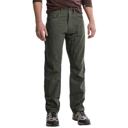 Slim Fit Corduroy Pants (For Men) 171YA - Save 86%