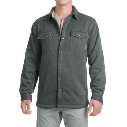Pacific Trail Fleece Shirt Jacket (For Men) in Charcoal Heather - Closeouts