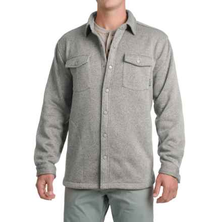 Pacific Trail Fleece Shirt Jacket (For Men) in Grey Heather - Closeouts