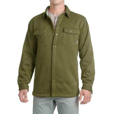 Pacific Trail Fleece Shirt Jacket (For Men) in Sea Turtle Heater - Closeouts