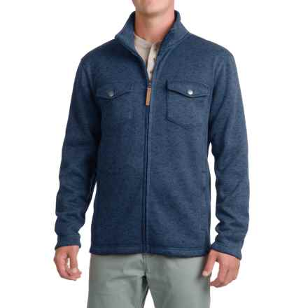 Pacific Trail Fleece Shirt Jacket - Zip Up (For Men) in Blue Stone Heather - Closeouts