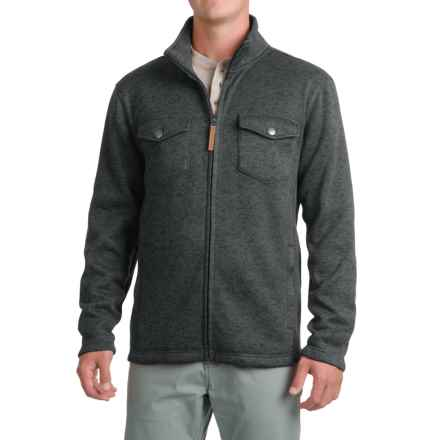 Pacific Trail Fleece Shirt Jacket - Zip Up (For Men) in Charcoal Heather - Closeouts