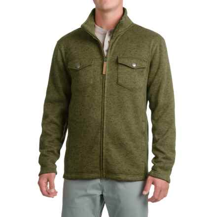 Pacific Trail Fleece Shirt Jacket - Zip Up (For Men) in Sea Turtle Heather - Closeouts