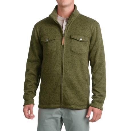 Pacific Trail Fleece Shirt Jacket - Zip Up (For Men)
