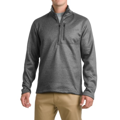 Pacific Trail Fleece Sweater - Zip Neck (For Men)