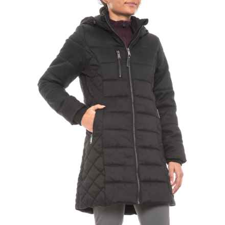 Pacific Trail Heather Quilted Parka - Insulated (For Women) in Black - Closeouts