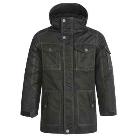 Pacific Trail Heavyweight Parka (For Big Boys) in Black - Closeouts