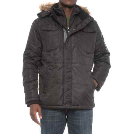 Pacific Trail Heavyweight Parka - Insulated (For Men) in Black - Closeouts