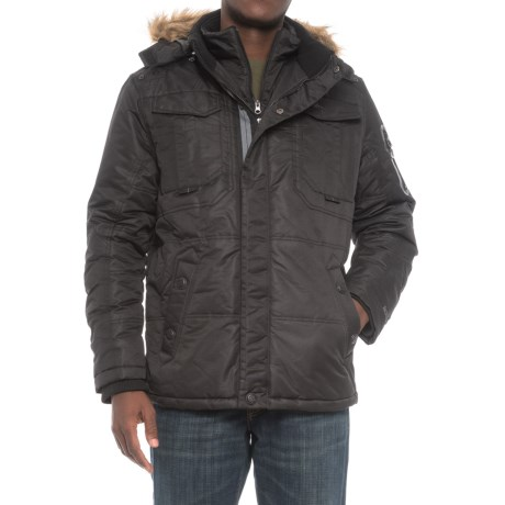 Pacific Trail Heavyweight Parka - Insulated (For Men) in Black