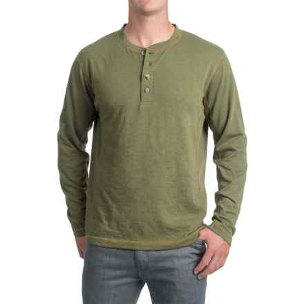 Pacific Trail Henley Shirt - Long Sleeve (For Men) in Olive - Closeouts