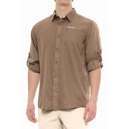 Pacific Trail High-Performance Perforated Shirt - UPF 30, Long Sleeve (For Men) in Mushroom - Closeouts
