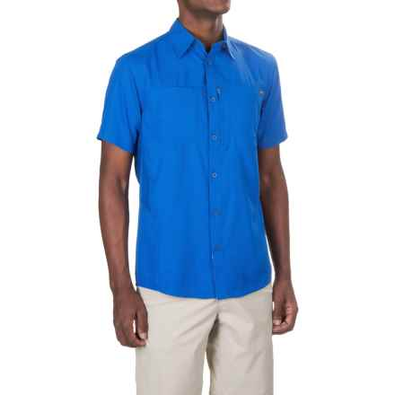 Pacific Trail High-Performance Shirt - UPF 30, Short Sleeve (For Men) in Blue - Closeouts