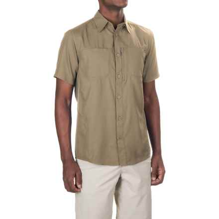 Pacific Trail High-Performance Shirt - UPF 30, Short Sleeve (For Men) in Brown/Khaki - Closeouts
