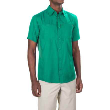 Pacific Trail High-Performance Shirt - UPF 30, Short Sleeve (For Men) in Teal - Closeouts