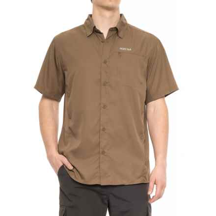 Pacific Trail High-Performance Woven Shirt - UPF 30, Short Sleeve (For Men) in Mushroom - Closeouts
