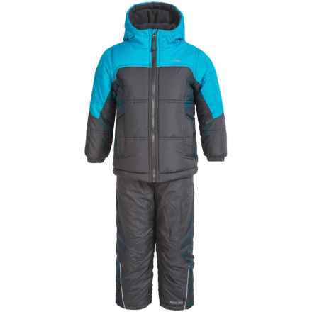 Pacific Trail Jacket and Snow Pants Set - 2-Piece (For Toddlers) in Asphalt - Closeouts