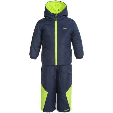 Pacific Trail Jacket and Snow Pants Set - 2-Piece (For Toddlers) in Navy Pier - Closeouts