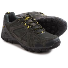 Pacific Trail Lava Hiking Shoes - Suede (For Men) in Grey/Black/Yellow - Closeouts