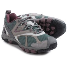 Pacific Trail Lawson Hiking Shoes - Suede (For Women) in Grey/Purple - Closeouts