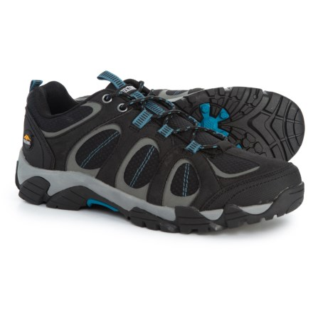 7801398fec Pacific Trail Logan Hiking Shoes (For Men) in Black Royal - Closeouts