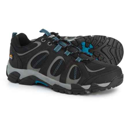 Pacific Trail Logan Hiking Shoes (For Men) in Black/Royal - Closeouts