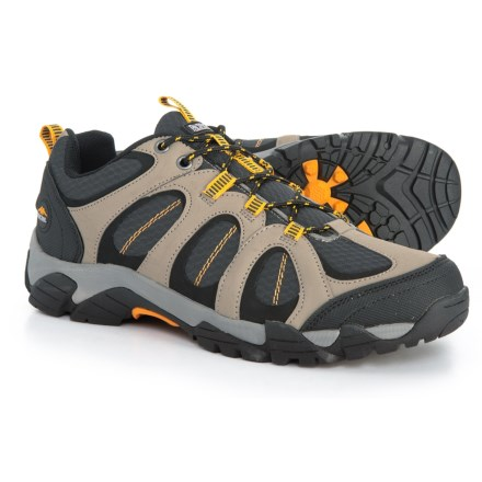 online retailer 61598 1f990 Pacific Trail Logan Hiking Shoes (For Men) in Khaki - Closeouts