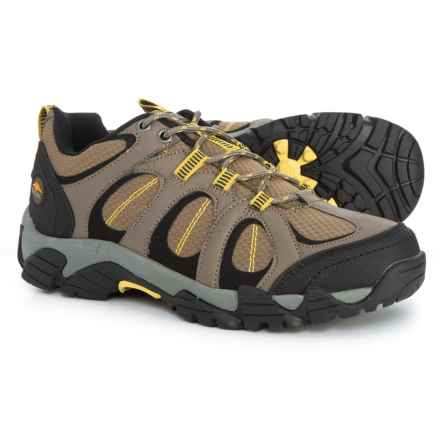 7c9609dc2 Pacific Trail Logan Hiking Shoes (For Women) in Brown Yellow - Closeouts