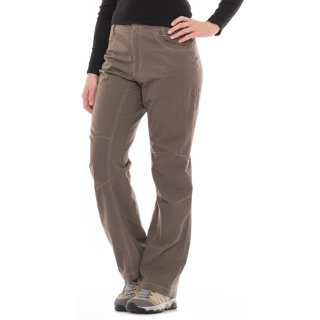 Pacific Trail Multi Pocketed Pants - UPF 30 (For Women) in Fossil