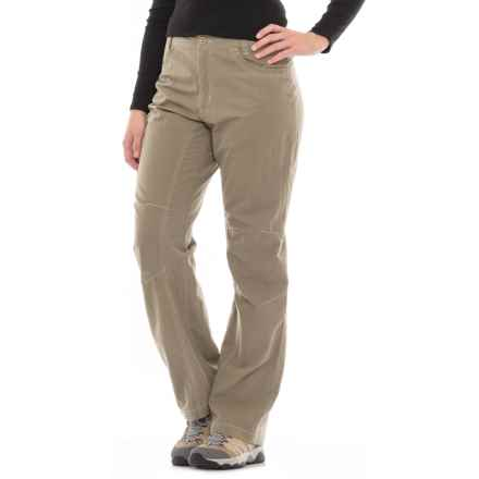 Pacific Trail Multi Pocketed Pants - UPF 30 (For Women) in Light Taupe - Closeouts