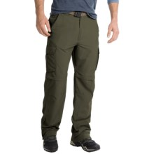 Pacific Trail Nylon Faille Convertible Pants - UPF 15 (For Men) in Army Green - Closeouts