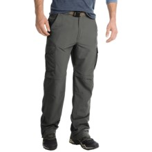 Pacific Trail Nylon Faille Convertible Pants - UPF 15 (For Men) in Dark Grey - Closeouts