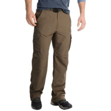 Pacific Trail Nylon Faille Convertible Pants - UPF 15 (For Men) in Driftwood - Closeouts