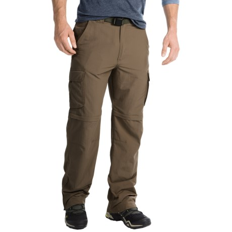 Pacific Trail Nylon Faille Convertible Pants - UPF 15 (For Men) in Driftwood