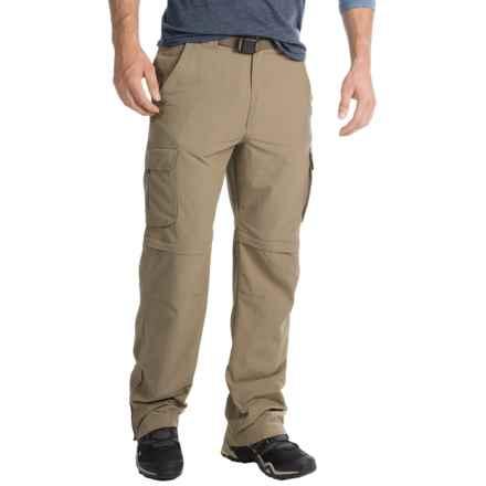 Pacific Trail Nylon Faille Convertible Pants - UPF 15 (For Men) in Khaki - Closeouts