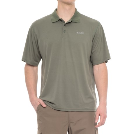 Pacific Trail Performance-Cooling Polo Shirt - Short Sleeve (For Men) in Mountain Sage