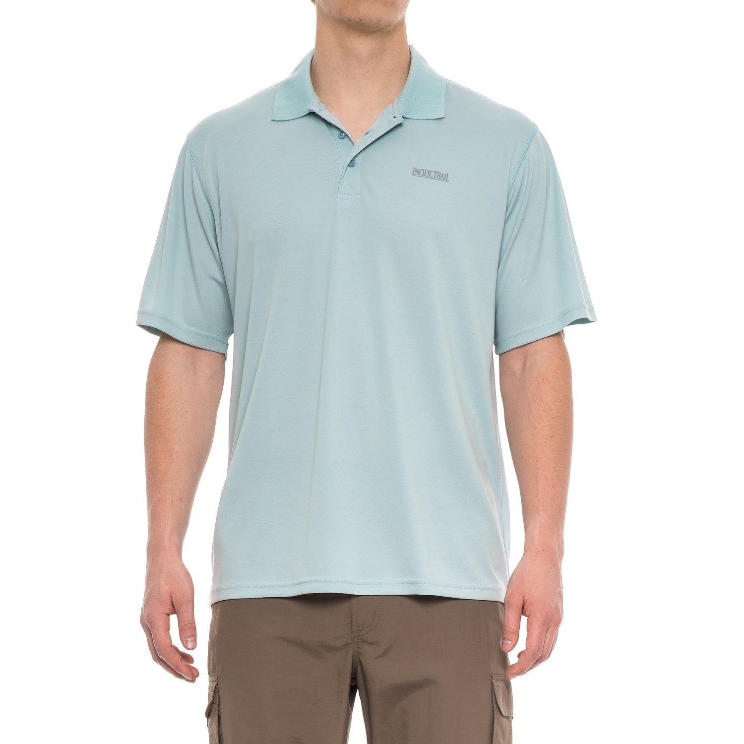 f441fcf11ea4c Pacific Trail Performance-Cooling Polo Shirt - Short Sleeve (For Men) in  Sterling ...