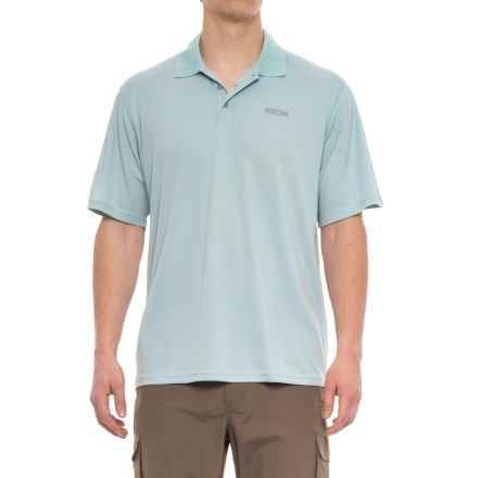 Pacific Trail Performance-Cooling Polo Shirt - Short Sleeve (For Men) in Sterling Blue - Closeouts